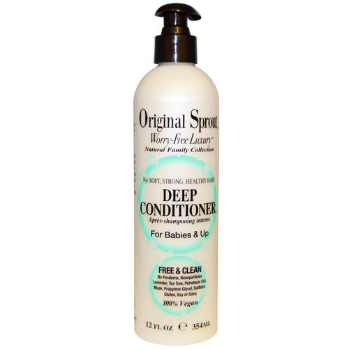 Original Sprout, Deep Conditioner, For Babies & Up, 12 fl oz (354 ml) فوائد