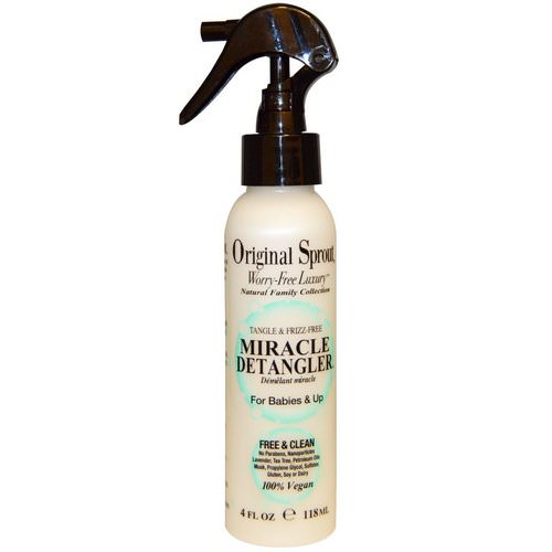 Original Sprout, Miracle Detangler, For Babies & Up, 4 fl oz (118 ml) فوائد