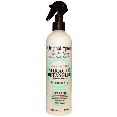 Original Sprout, Miracle Detangler, For Babies & Up, 12 fl oz (354 ml) فوائد
