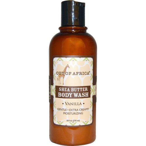 Out of Africa, Shea Butter Body Wash, Vanilla, 9 fl oz (270 ml) فوائد