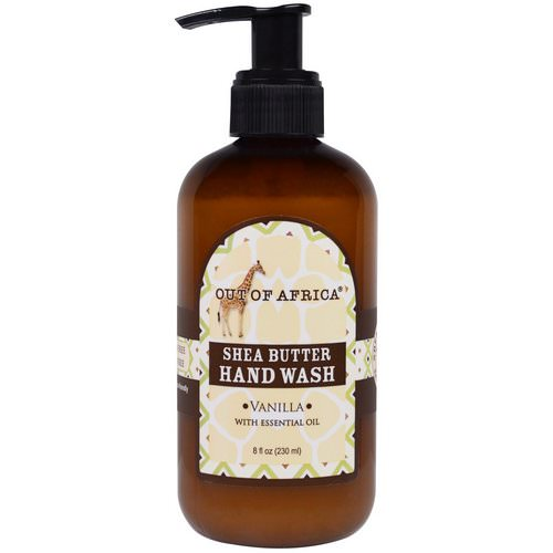 Out of Africa, Shea Butter Hand Wash, Vanilla, 8 fl oz (230 ml) فوائد