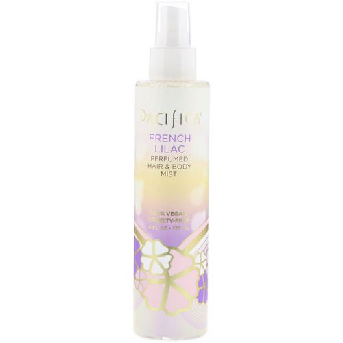 Pacifica, French Lilac Perfumed Hair & Body Mist, 6 fl oz (177 ml) فوائد