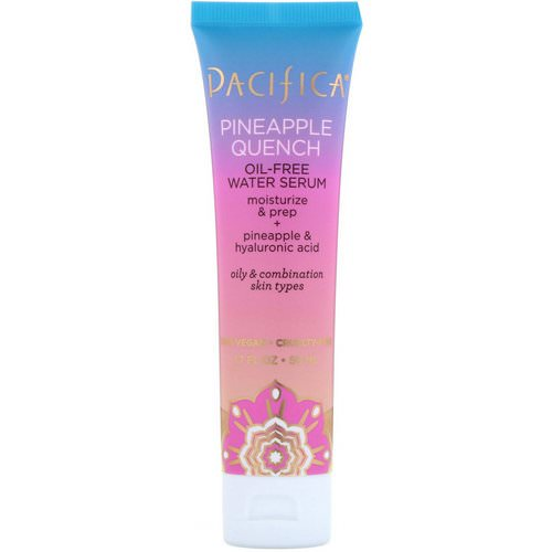 Pacifica, Pineapple Quench, Oil-Free Water Serum, 1.7 fl oz (50 ml) فوائد