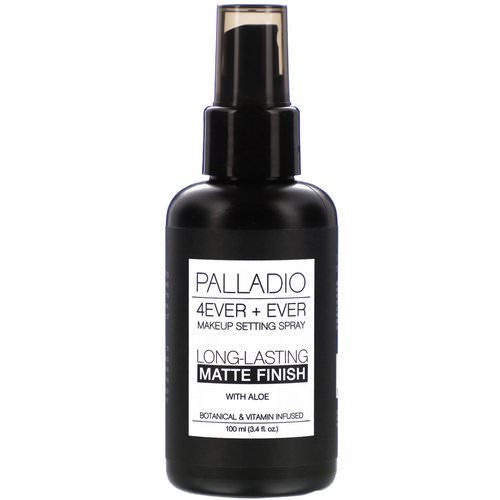 Palladio, 4Ever + Ever Makeup Setting Spray, Long-Lasting Matte Finish, 3.4 fl oz (100 ml) فوائد
