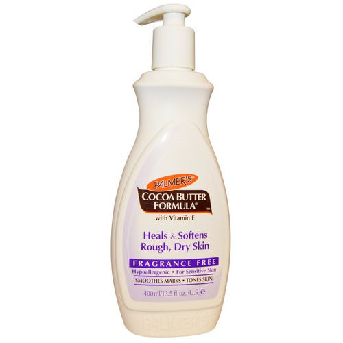 Palmer's, Cocoa Butter Formula, Body Lotion, Fragrance Free, 13.5 fl oz (400 ml) فوائد