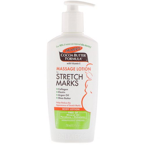 Palmer's, Cocoa Butter Formula, Body Lotion, Massage Lotion for Stretch Marks, 8.5 fl oz (250 ml) فوائد