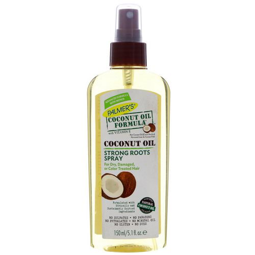 Palmer's, Coconut Oil Formula, Strong Roots Spray, 5.1 fl oz (150 ml) فوائد