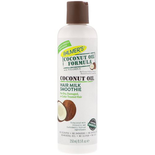 Palmer's, Coconut Oil Formula with Vitamin E, Hair Milk Smoothie, 8.5 fl oz (250 ml) فوائد