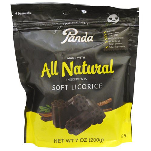 Panda Licorice, Soft Licorice, 7 oz (200 g) فوائد