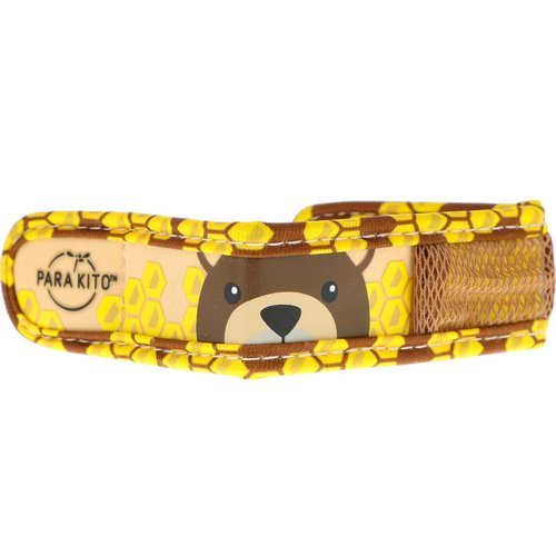 Para'kito, Mosquito Repellent Band + 2 Pellets, Kids, Brown Bear, 3 Piece Set فوائد