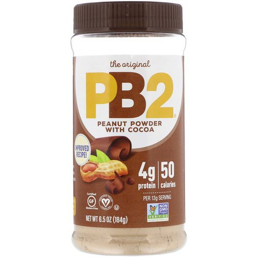 PB2 Foods, PB2, Powdered Peanut Butter with Cocoa, 6.5 oz (184 g) فوائد