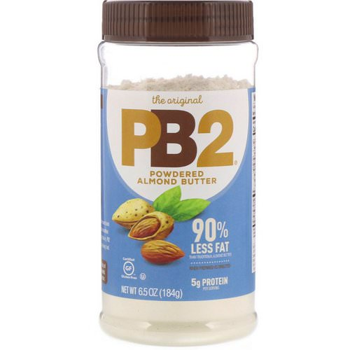 PB2 Foods, The Original PB2, Powdered Almond Butter, 6.5 oz (184 g) فوائد