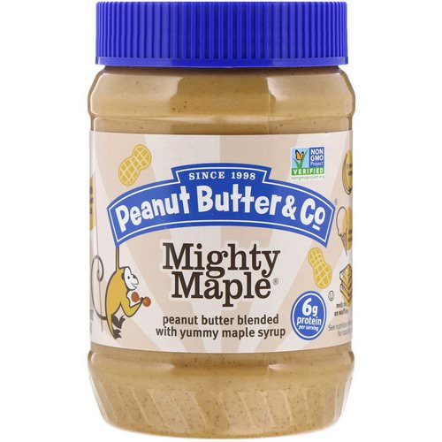 Peanut Butter & Co, Mighty Maple, Peanut Butter Blended with Yummy Maple Syrup, 16 oz (454 g) فوائد