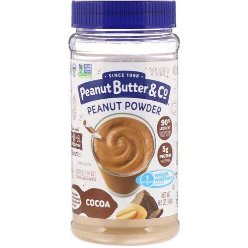 Peanut Butter & Co, Mighty Nut, Powdered Peanut Butter, Chocolate, 6.5 oz (184 g) فوائد