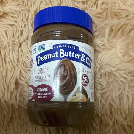 Peanut Butter & Co, Peanut Butter Blended With Rich Dark Chocolate, Dark Chocolate Dreams, 16 oz (454 g)