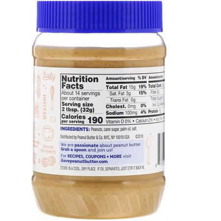 Peanut Butter & Co, Smooth Operator, Peanut Butter Spread, 16 oz (454 g):يحفظ, ينتشر