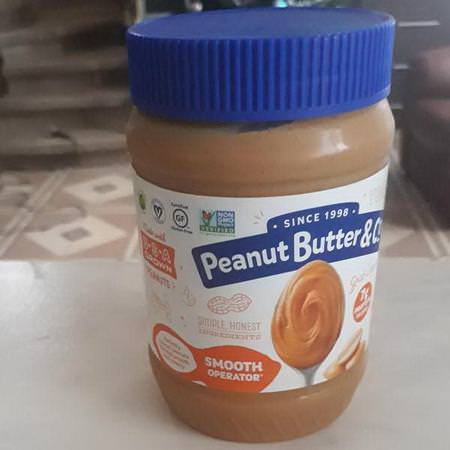 Peanut Butter & Co, Smooth Operator, Peanut Butter Spread, 16 oz (454 g)