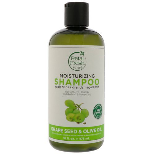 Petal Fresh, Pure, Age-Defying Shampoo, Grape Seed & Olive Oil, 16 fl oz (475 ml) فوائد