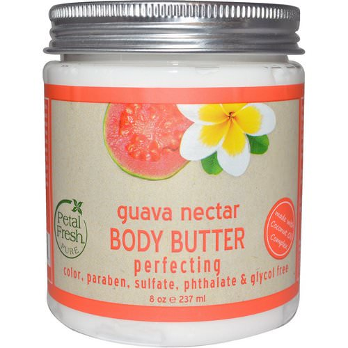 Petal Fresh, Pure, Body Butter, Perfecting, Guava Nectar, 8 oz (237 ml) فوائد