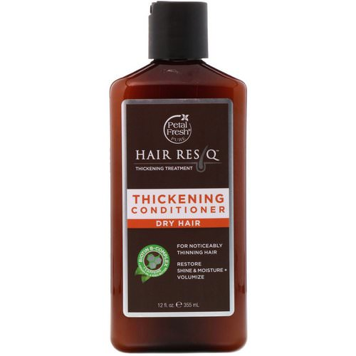 Petal Fresh, Pure, Hair ResQ, Thickening Treatment Conditioner, for Dry Hair, 12 fl oz (355 ml) فوائد
