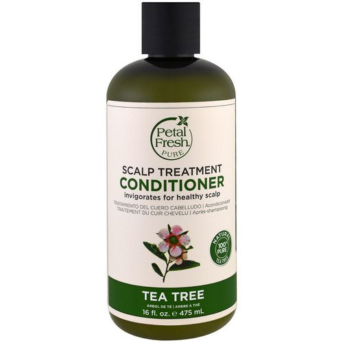 Petal Fresh, Pure, Scalp Treatment Conditioner, Tea Tree, 16 fl oz (475 ml) فوائد