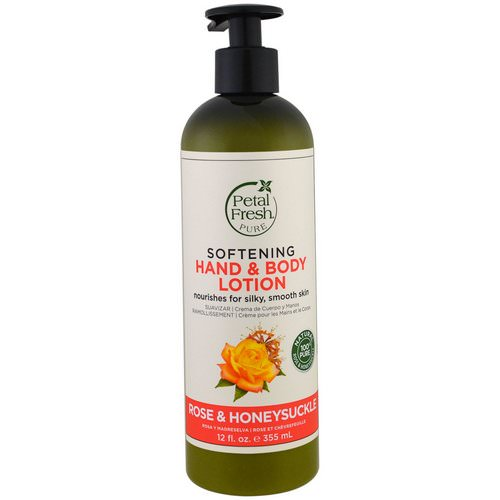 Petal Fresh, Pure, Softening Hand & Body Lotion, Rose & Honeysuckle, 12 fl oz (355 ml) فوائد