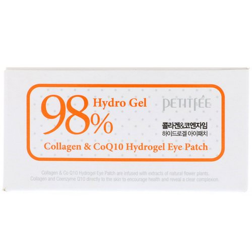 Petitfee, Collagen & CoQ10 Hydrogel Eye Patch, 60 Patches, 1.4 g Each فوائد