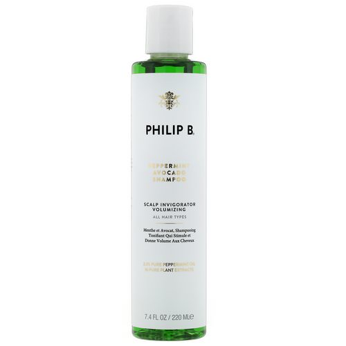 Philip B, Peppermint Avocado Shampoo, 7.4 fl oz (220 ml) فوائد