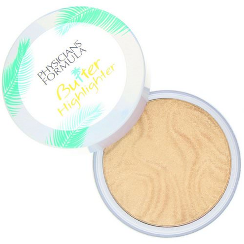 Physicians Formula, Butter Highlighter, Cream to Powder Highlighter, Champagne, 0.17 oz (5 g) فوائد