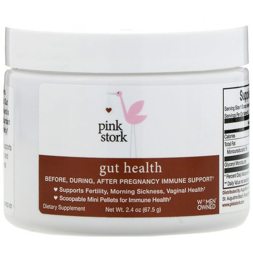 Pink Stork, Gut Health, Pregnancy Immune Support, 2.4 oz (67.5 g) فوائد