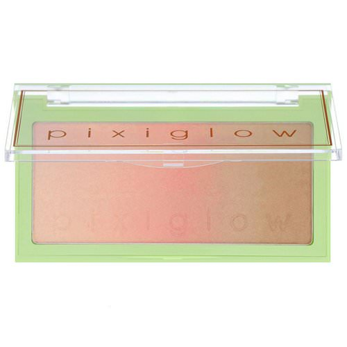 Pixi Beauty, Pixiglow Cake, 3-in-1 Luminous Transition Powder, Gilded Bare Glow, 0.85 oz (24 g) فوائد