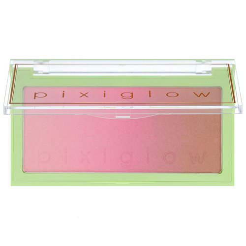 Pixi Beauty, Pixiglow Cake, 3-in-1 Luminous Transition Powder, Pink Champagne Glow, 0.85 oz (24 g) فوائد