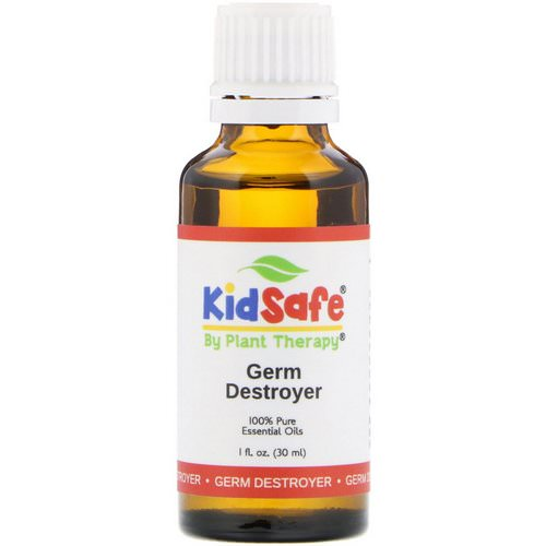 Plant Therapy, KidSafe, 100% Pure Essential Oils, Germ Destroyer, 1 fl oz (30 ml) فوائد