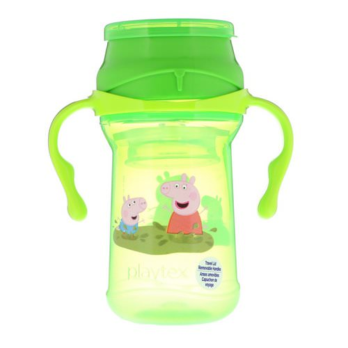 Playtex Baby, 360° Cup, Spoutless, Peppa Pig, 9+ Months, 10 oz (296 ml) فوائد