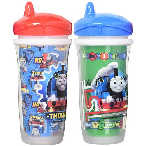 Playtex Baby, Sipsters, Thomas & Friends, 12+ Months, 2 Cups, 9 oz (266 ml) Each فوائد