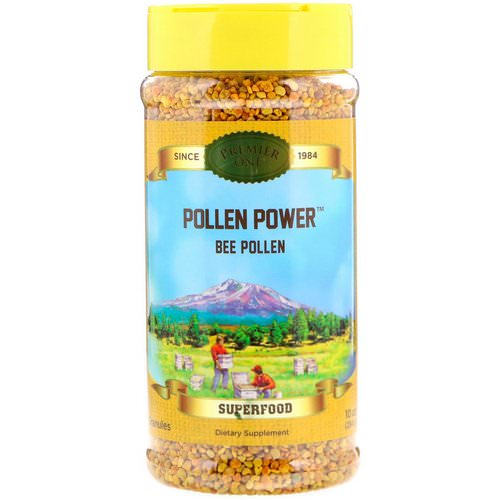 Premier One, Pollen Power, Granules Bee Pollen, 10 oz (284 g) فوائد