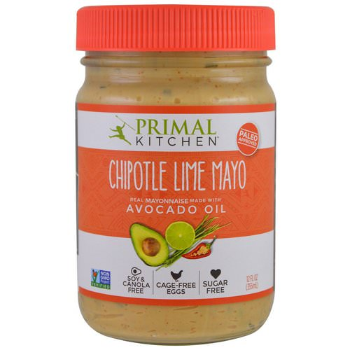 Primal Kitchen, Mayonnaise with Avocado Oil, Chipotle Lime, 12 fl oz (355 ml) فوائد