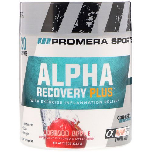 Promera Sports, Alpha Recovery Plus, Orchard Apple, 7.13 oz (202.1 g) فوائد