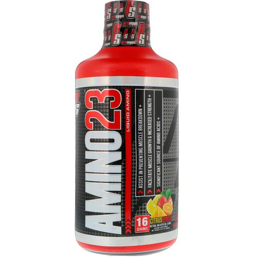 ProSupps, Amino 23, Liquid Amino, Citrus Punch, 32 oz (946 ml) فوائد