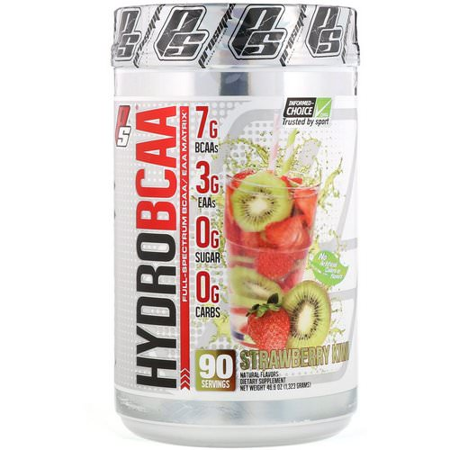 ProSupps, Hydro BCAA, Strawberry Kiwi, 46.6 oz (1323 g) فوائد