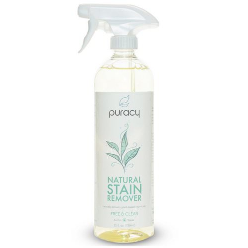 Puracy, Natural Stain Remover, Free & Clear, 25 fl oz (739 ml) فوائد