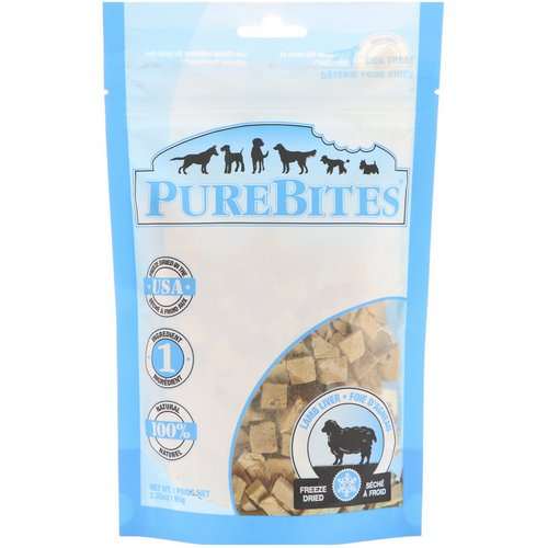 Pure Bites, Freeze Dried, Dog Treats, Lamb Liver, 3.35 oz (95 g) فوائد