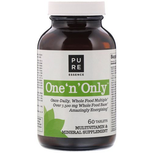 Pure Essence, One 'n' Only, Multivitamin & Mineral, 60 Tablets فوائد