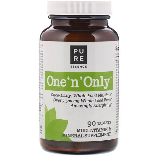 Pure Essence, One 'n' Only, Multivitamin & Mineral, 90 Tablets فوائد