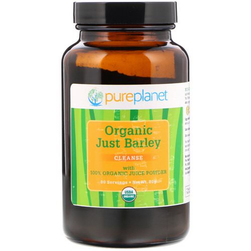 Pure Planet, Organic Just Barley, 80 g فوائد