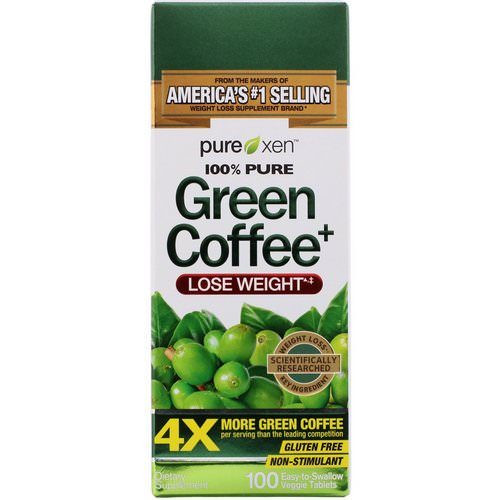 Purely Inspired, Green Coffee+, 100 Veggie Tablets فوائد