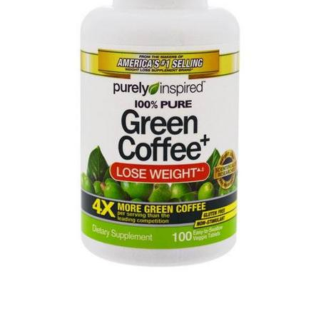 Purely Inspired Green Coffee Bean Extract Green Coffee Bean Extract