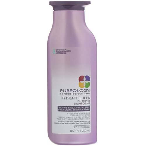 Pureology, Serious Colour Care, Hydrate Sheer Shampoo, 8.5 fl oz (250 ml) فوائد