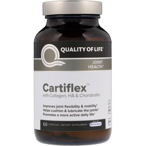 Quality of Life Labs, Cartiflex, 60 Capsules فوائد