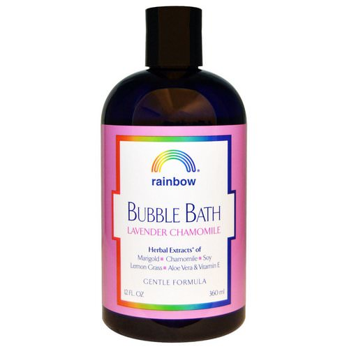 Rainbow Research, Bubble Bath, Lavender Chamomile, Gentle Formula, 12 fl oz (360 ml) فوائد